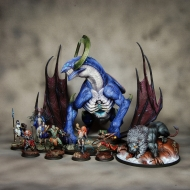 Dragon King + Vignette of Death: White Gigalion