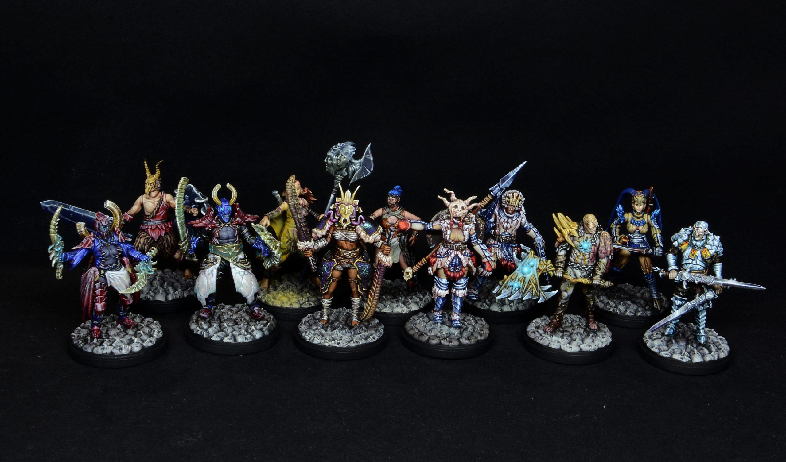 Kingdom Death Survivors Groupshot