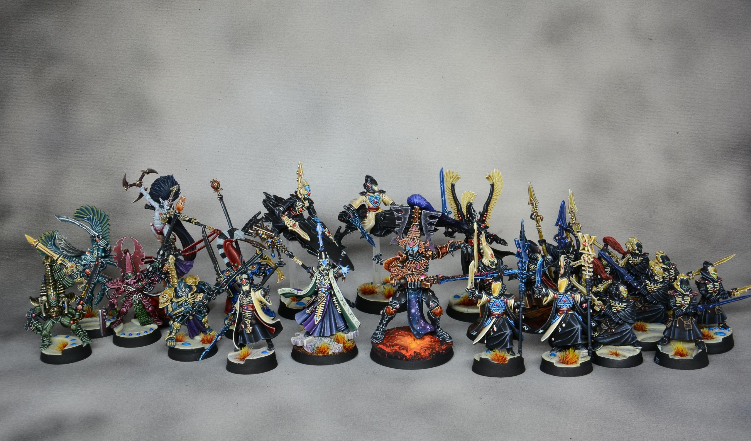 Groupshot Eldars